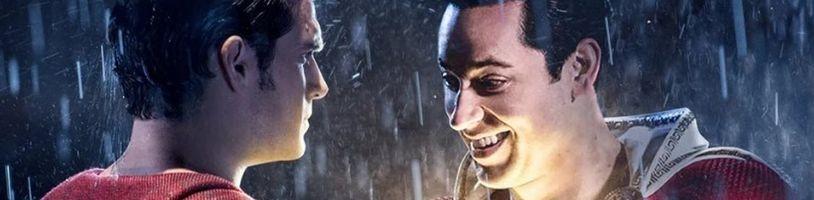 Henry Cavill sa skutočne objavil v Shazamovi! Režisér ukázal nepoužitý záver