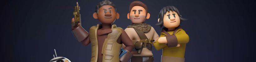 Takto mala vyzerať Star Wars epizóda IX, pôvodný scenár v animovanom videu