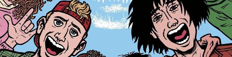 Bill a Ted dostanú vlastný komiks, ktorý doplní prázdne miesta v príbehu