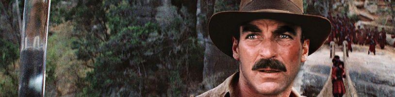 Jak by vypadal Tom Selleck jako Indiana Jones?