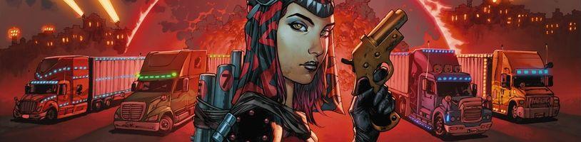 Kickstarterový teaser na novou komiksovou sérii Scotta Snydera
