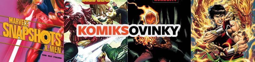 KOMIKSOVINKY: Marvel pre mesiac september/září 2020, časť 2