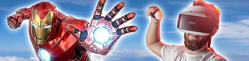 Staňte se virtuálním superhrdinou v Marvel's Iron Man VR