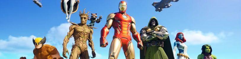 Superhrdinové Marvelu míří do nové sezóny Fortnite