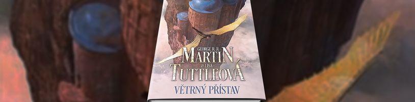 Sci-fi román Windhaven se po 27 letech vrací v novém českém vydání