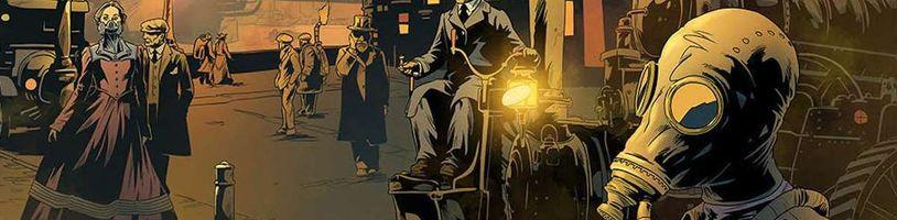 Spojení steampunku a Lovecraftovského hororu? To je nová komiksová série Democritus Brand and the Endless Machine