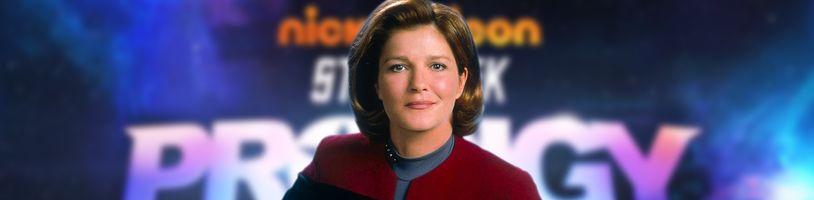 Animák Star Trek: Prodigy vráti na palubu kapitánku Janewayovú