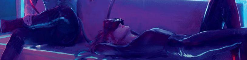 Podívejte se na exkluzivní český útržek o psychovizi z knihy Svět hry Cyberpunk 2077