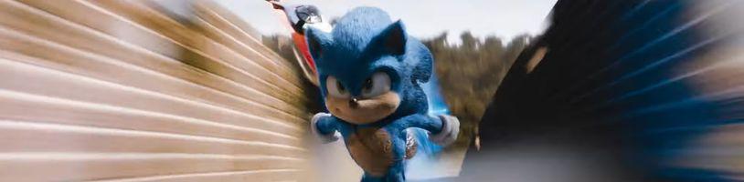 Filmový Sonic vyjde digitálně mnohem dříve, než bylo plánováno