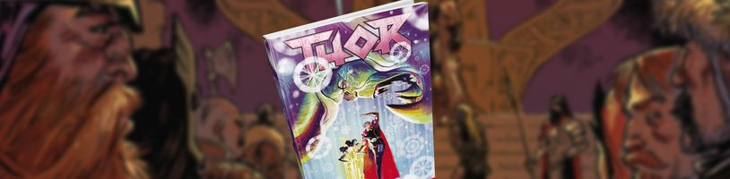 Thor musí utéct z vězení válečníků Hevenu v novém svazku