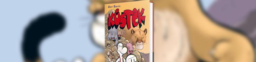 Pátý díl komiksu Kůstek přichází v novém barevném kabátku