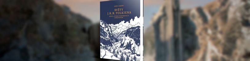 Obrazová publikace o reálných místech, která inspirovala Tolkiena při tvorbě Středozemě