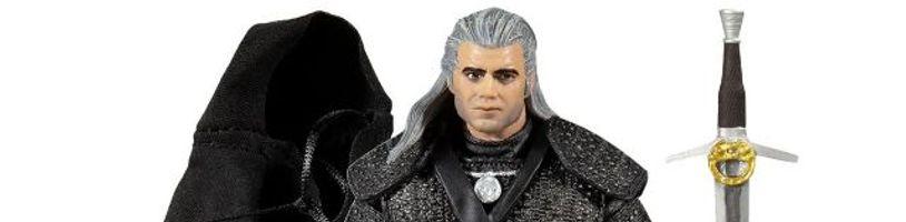 Zaklínačské figurky od McFarlane Toys vypadají otřesně