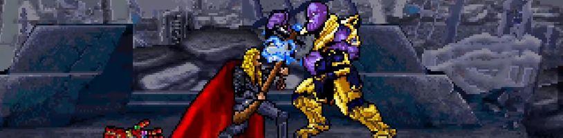 John Stratman prerobil celý záver Avengers Endgame do nádhernej 16-bitovej animácie