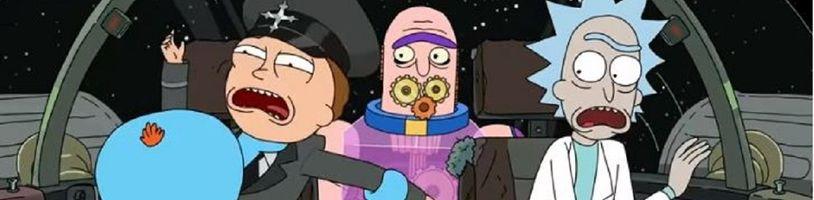 Adult Swim zverejnil intro štvrtej série Rick and Morty