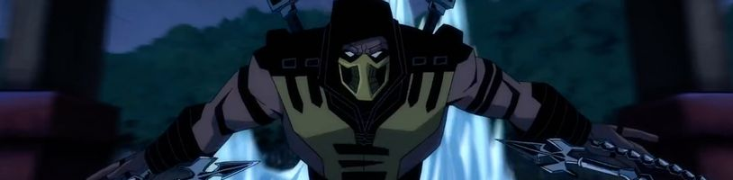 Klip z animovaného Mortal Kombatu ukazuje Škorpiona v plnej paráde