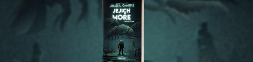 Ve scifi románu Jejich moře hrozí mezigalaktická podmořská válka mezi lidmi a Šoleny