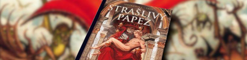 Argo chce vydať komiks Strašlivý papež rovno s dvoma obálkami