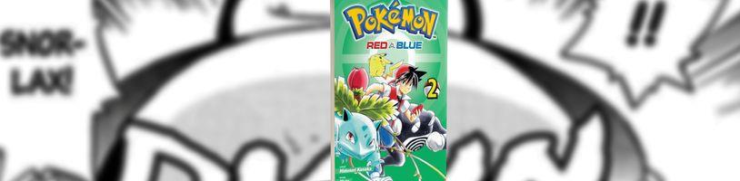 Red potkává tajemnou dívku Green v druhém svazku manga série Pokémon - Red a Blue