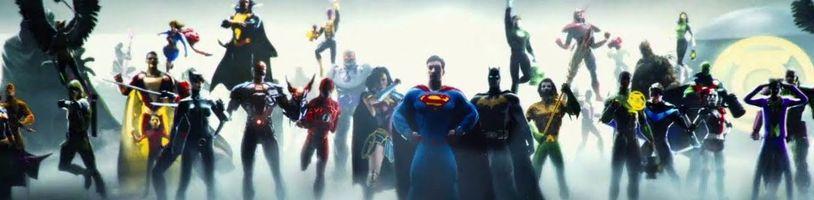 DC FanDome sa vracia v nelineárnom Explore the Multiverse