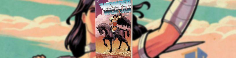 Pátý svazek komiksové Wonder Woman od Briana Azzarella