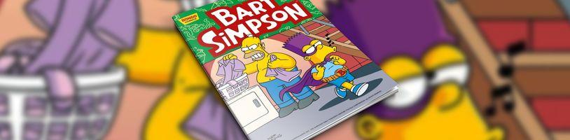 Vydání květnového čísla komiksu Bart Simpson se kvapem blíží