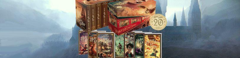 Nakladatelství Ikar vydalo nové kompletní vydání Harryho Pottera