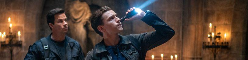 Film Uncharted: Nathan Drake a Sully v akci