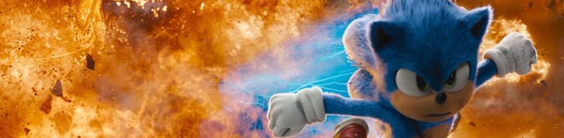 Sonic dostane druhý diel, oficiálne to potvrdili Paramount aj Sega