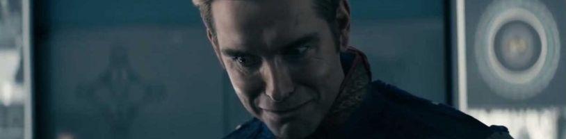 Nové klipy z The Boys opäť ukazujú psychopatického Homelandera