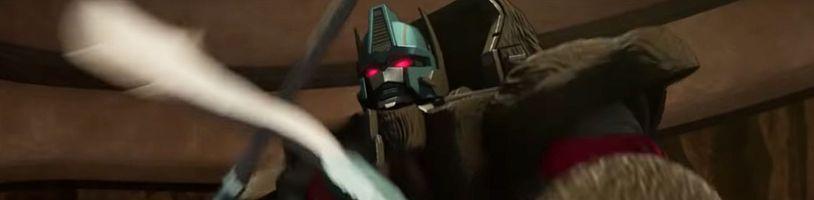 Transformeri mieria do praveku v závere trilógie War for Cybertron