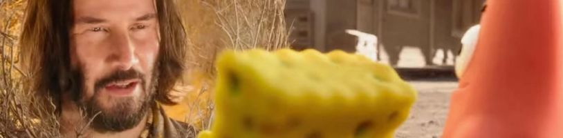 V novom filmovom Spongebobovi sa objaví aj Keanu Reeves