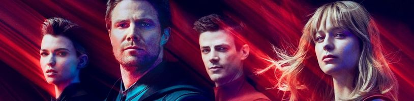 Finálny trailer najväčšieho televízneho crossoveru ukazuje nové zábery