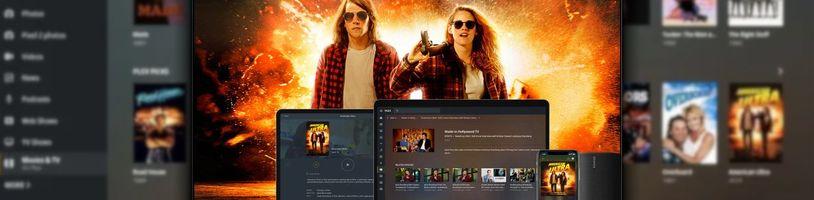 Plex spustil bezplatnou půjčovnu filmů, funguje i u nás