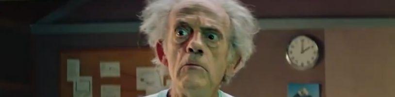 Rick a Morty v live-action realitě? Christopher Lloyd v oficiálním videu!