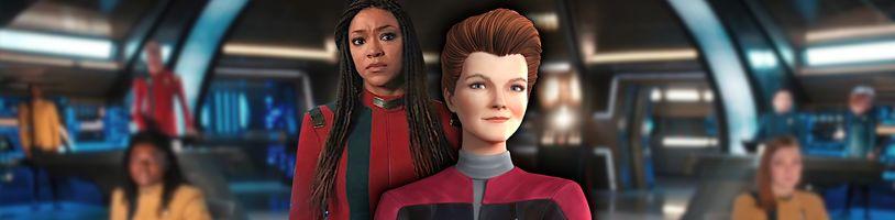 Mnoho Star Trek noviniek: Picard, Lower Decks a Discovery