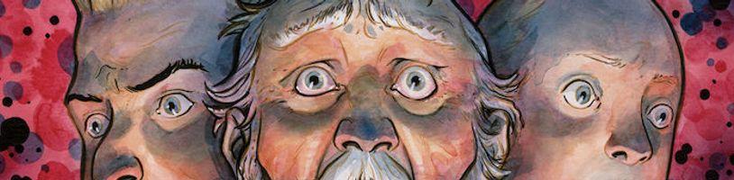 Šílený vesmírný cestoval Colonel Weird v solo komiksu z univerza Černé palice