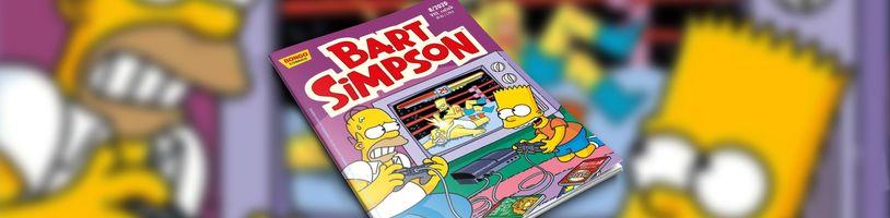 Homer a Bart se dostanou do křížku se zločincem