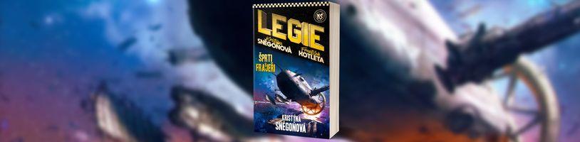 Nakladatelství Epocha oznámilo třetí díl akční sci-fi série Legie