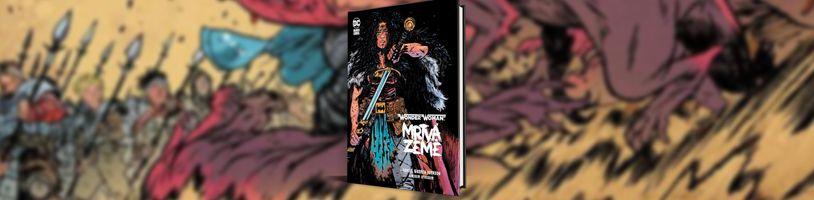 Wonder Woman na cestě postapokalyptickou pustinou