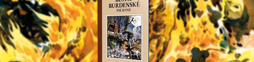 Neobvyklí hrdinové musí zachránit městečko Burden Hill před zkázou v komiksu Bestie Burdenské 1: Psí kusy
