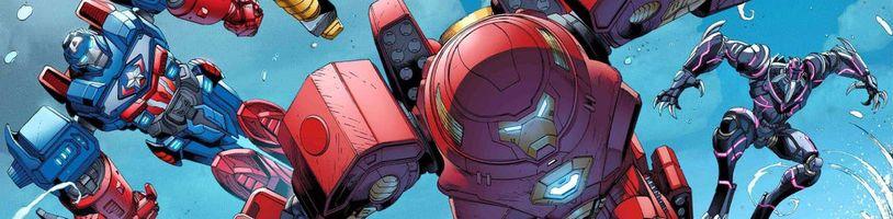 Bizarní komiksová minisérie Avengers Mech Strike představuje superhrdiny v úplně jiném kabátku, doslova