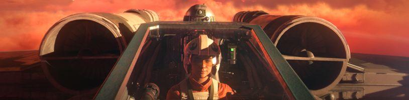 Dynamické souboje v gameplay záběrech ze Star Wars: Squadrons