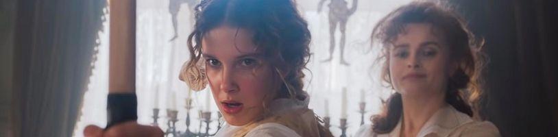Enola Holmes sa konečne ukazuje v traileri