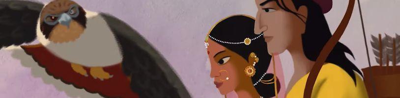 Animovaný snímek Růže z Bombaje se v prosinci objeví na Netflixu