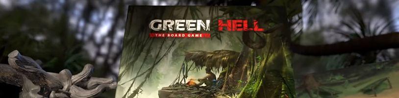Survival titul Green Hell se dočká deskoherní adaptace