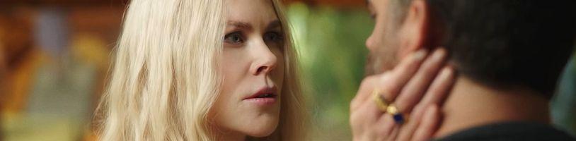 Nicole Kidman jako autorka netradičních léčebných metod v seriálu Nine Perfect Strangers