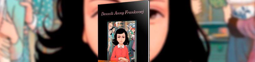 Komiksová adaptace Deníku Anny Frankové konečně i na Slovensku