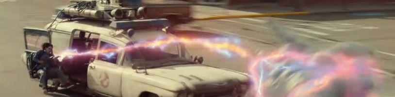 Nový trailer na Krotitele duchů slibuje nostalgickou jízdu i mnoho novinek