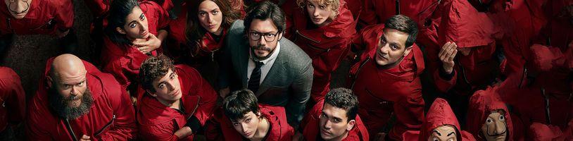 Pátá řada seriálu Papírový dům v oficiálním traileru